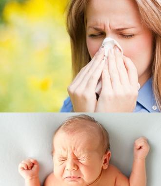 打喷嚏致流产 孕早期流产非保不可?